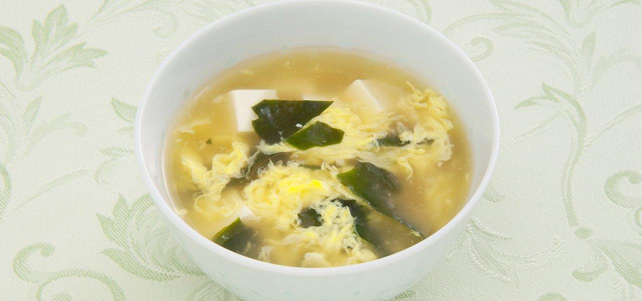 卵 豆腐 スープ